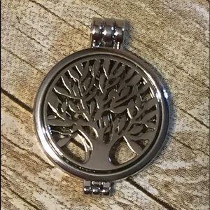 Necklace Diffuser pendant w/matching ring